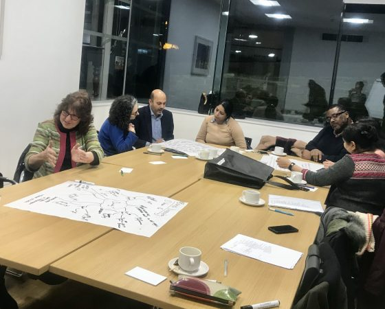 Talking about the arts in Bradford